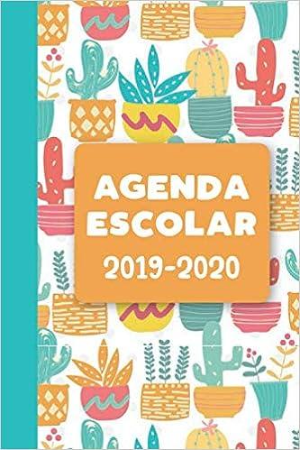 Agenda Escolar 2019-2020: Cactus: Amazon.es: Manzanilla ...