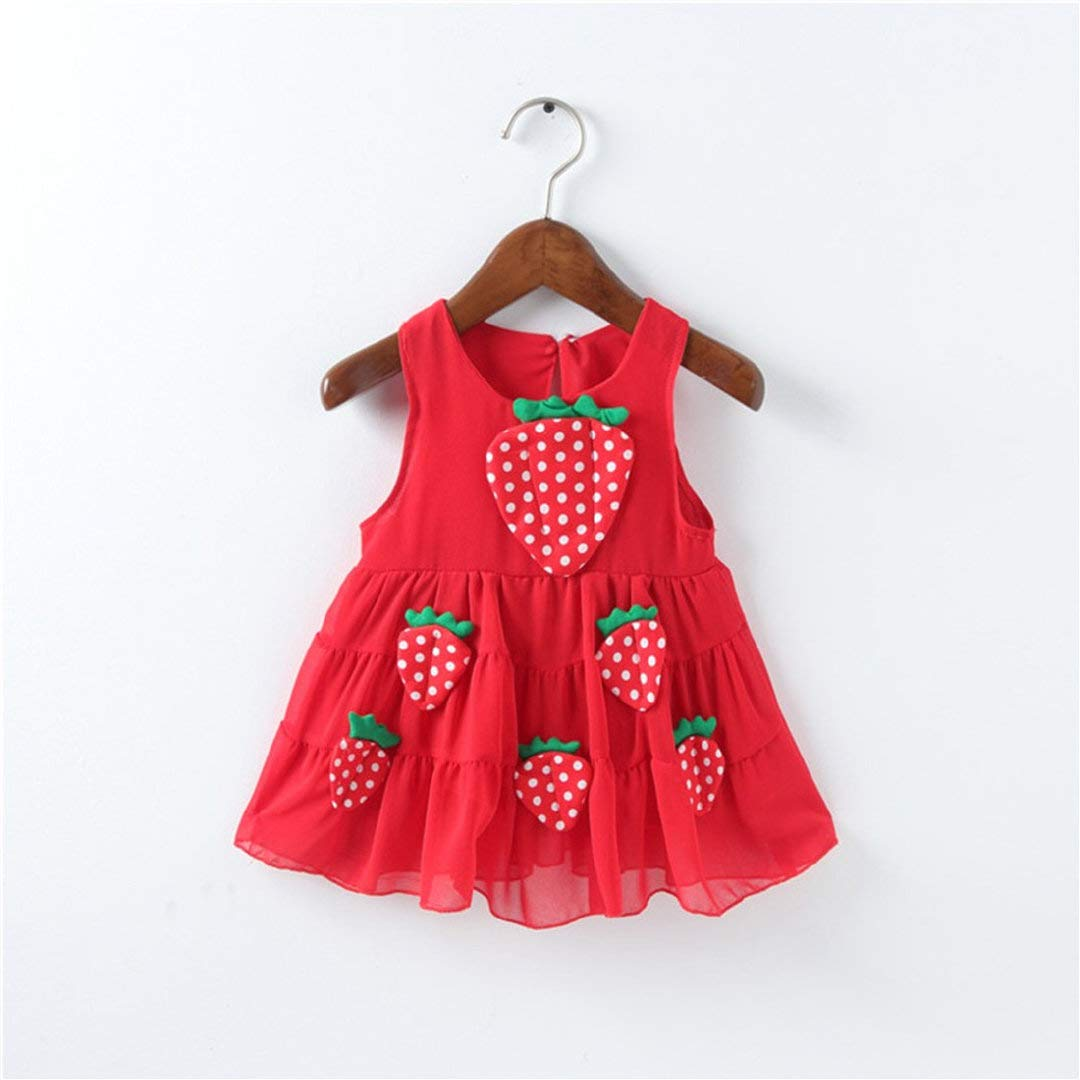 Amazon.com: Baby Girls Ball Gowns Wedding Birthday Party Dresses Princess Appliques Strawberry Casual Dress Clothes Toponly: Appliances