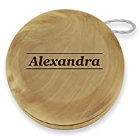 Dimension 9 Alexandra Classic Wood Yoyo with Laser Engraving