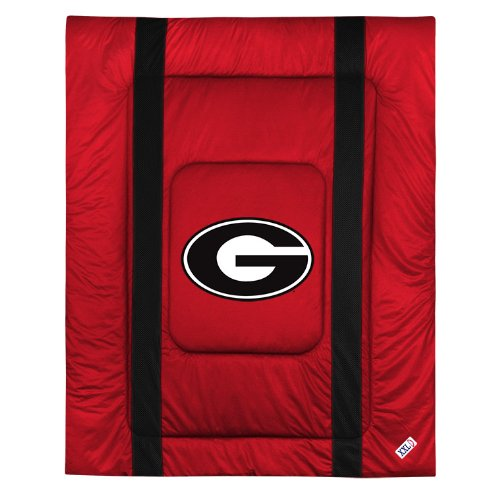 Georgia Tech Queen - Sports Coverage NCAA Georgia Bulldogs Sideline Comforter Queen