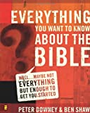 everything you want to know about the bible well maybe not everything but enough to get you started