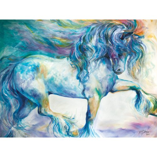 Westland Giftware Marcia Baldwin Canvas Wall Art, 12 by 16-Inch, Gypsy Vanner