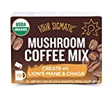 Four Sigmatic Mushroom Coffee - USDA Organic Coffee with Lions Mane and Chaga Mushroom Powder -...