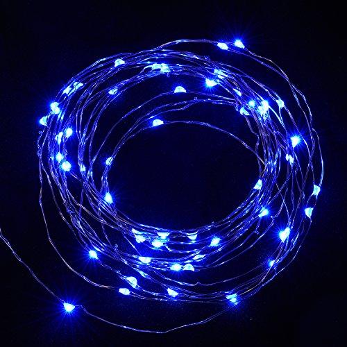 String Lights,Oak Leaf 2 Set of 9.8ft 30 Leds Fairy Lights LED Starry String Lights Copper Wire ...