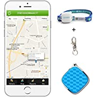 Mini GPS Tracker, Podofo GSM/GPRS Real Time Locator with Free Google Map Waterproof Smart Anti-Lost Tracking Device for Kids Elder Pets Vehicle Support Android & IOS APP and PC