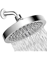PETIARKIT Shower Head High Pressure Rain, Luxury Bathroom Showerhead with Chrome Plated Finish, Adjustable Angles, Anti-Clogging Silicone Nozzles.