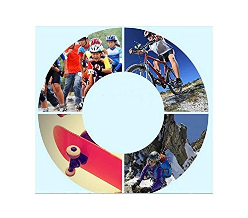 Set of 7 Toddlers Kids Children's Roller Skating Safeguard Sports Support Pads Knee Pads Elbow Pads Wrister Bracers Safety Helmet Durable Protection Gear for Ice Skate Skateboard Bicycle