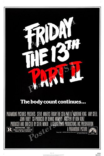 Posters USA Friday the 13th Part II GLOSSY