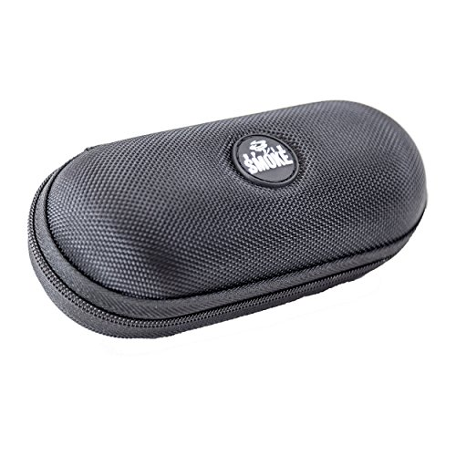 Up in Smoke - Medium Hard Shell Padded Interior Tobacco Pipe Case. Fits most 5