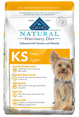 Blue Buffalo Natural Veterinary Diet Kidney Support for Dogs 22lbs