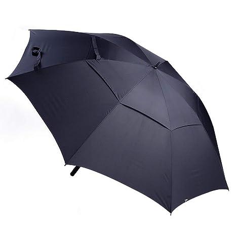 Sombrilla Paraguas Grande de Bienvenida Lluvia para Fortalecer el Paraguas Doble a Prueba de Viento (