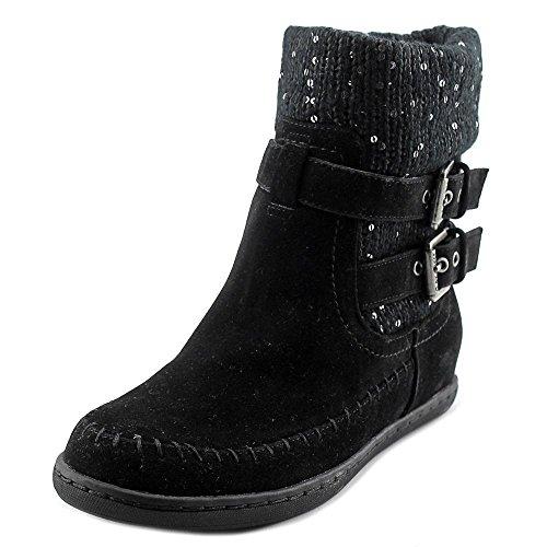 G Av Gissa Womens Riesling Rund Tå Ankel Kallt Väder Boots Black Multi