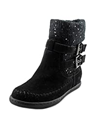 G by Guess Women's RIESLING Round Toe Ankle Cold Weather Boots