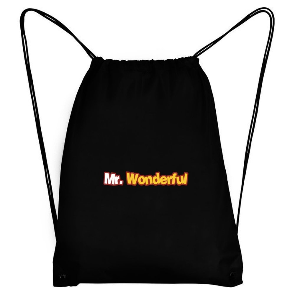 Teeburon Mr wonderful Bolsa deportiva: Amazon.es: Equipaje