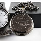 """To My Grand Son "" Pocket watch to grandson Gifts From a Grandpa GrandMa"