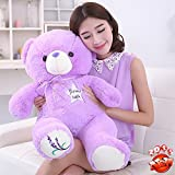 Brinquedos Toddlers Baby Teddy Bear 70cm Cute Juguetes Plush Dolls Lavender Wedding Gift Children Soft Toys