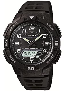 f3058b2685 Amazon | [カシオ]CASIO 腕時計 スタンダード ソーラー AQ-S810W-1A2JF ...