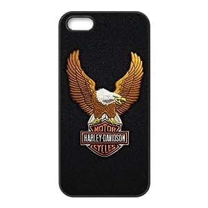Harley D V1R74V9AX funda iPhone 5 5s caso funda UQC126 negro