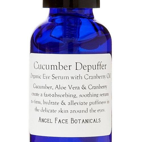 Depuffer yeux concombre Sérum Anti-Oxydant wth huile de canneberge Rich - Bio