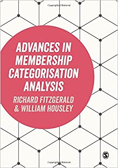 Book Advances in Membership Categorisation Analysis