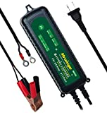 Mroinge MBC035 6V and 12V 3.5A Smart Vehicle Battery Charger / Maintainer for Cars, Motorcycles, RVs, TVs, Powersports, Boat and More Vehicle GEL WET AGM Batteries, With IP65 Waterproof