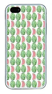 Little Watermelon Pattern Theme Iphone 5 5S Case TPU Material