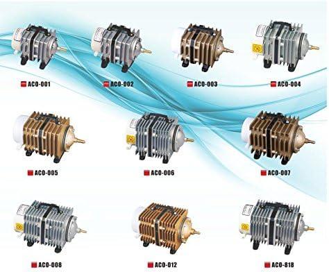 ATMAN SUNSUN ACO/ /002/El/éctrica magn/ético Ox/ígeno Compresor De Aire Bomba de Aire para Acuario