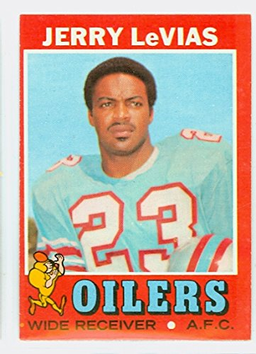 1971 Topps Football 240 Jerry LeVias Houston Oilers Excellent to Mint