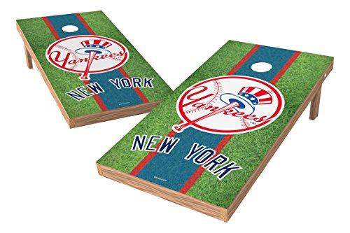 Mlb Tailgate Toss Game - MLB New York Yankees Field XL Shield Tailgate Toss Game, 24