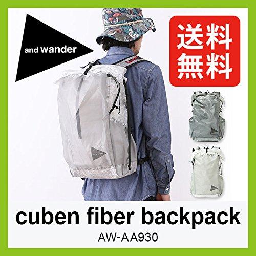 アンドワンダー キューベンファイバーバックパック 約25L 超軽量 防水 ロールトップ コンパクト cuben fiber backpack AW-AA930