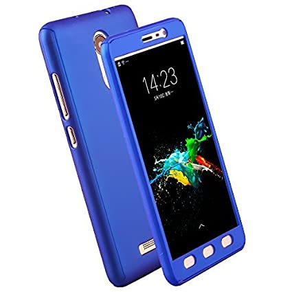 premium selection 0e290 56eb2 Johra Full Body Front & Back 360 Protective Blue: Amazon.in: Electronics