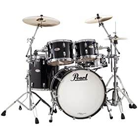 Pearl Reference RF924XSP/B407 Shell Pack, Red Glass (Cymbals and Hardware Not Included) 7