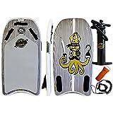 Gold Coast Surfboards Inflatable Body Board | 42†Squid Bodyboard | Fun High Performance Body Boards