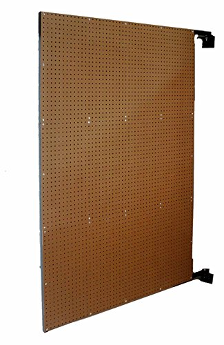 Triton Products W-1 XtraWall Wall Mount Double-Sided Swing Panel Pegboard 48 Inch W x 72 Inch H x 1-1/2 Inch D by XtraWall