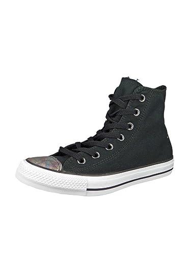 Converse 551607C Chuck Taylor All Star Hi Womens Basketball Shoes - Black  UK 3 601f329a5