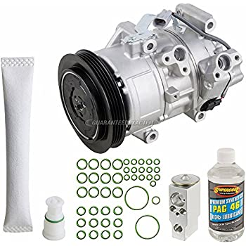 AC Compressor w/A/C Repair Kit For Toyota Yaris2006 - BuyAutoParts 60-81749RK NEW