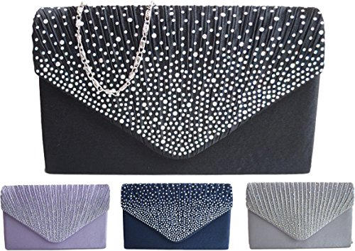Ladies Handbags Evening Groupcow Handbag Bag Navy Wedding Blue Bridal New RUqawBP