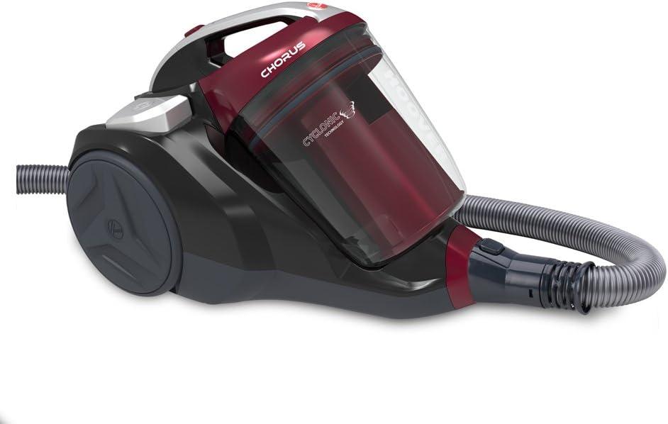 76/decibeles rouge intense et gris Hoover ch50pet 011/Aspirateur tra/îneau sans sac noir Luxor 2.5/liters