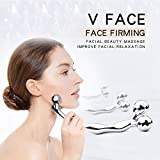 YEISEE Facial massager 3D Y roller Face massage Body Spa face roller Metal Material For Sale