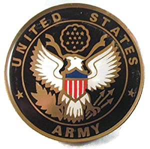 USA US ARMY LOGO Proud Military Family US Armed Forces Challenge Coin
