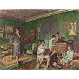 Oil painting 'Edouard Vuillard Madame Andr Wormser and her Children ' printing on Perfect effect canvas , 8 x 11 inch / 20 x 27 cm ,the best Laundry Room decoration and Home artwork and Gifts is this High Definition Art Decorative Prints on Canvas