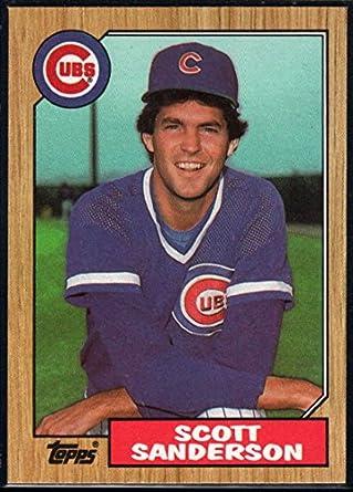 Amazoncom 1987 Topps Official Mlb Baseball Card 534 Scott
