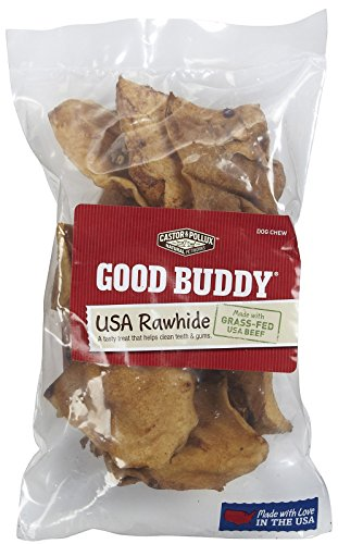 - Castor & Pollux, Dog Bone Rawhide Chips, 4 Ounce