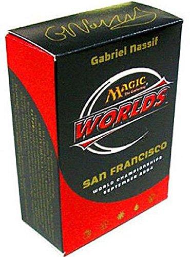 Magic The Gathering 2004 World Championship San Francisco Deck Quarterfinalist Gabriel Nassif