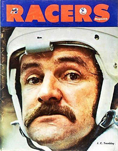 Racers Indianapolis - Racers Magazine - Indianapolis vs. Quebec February 1, 1975