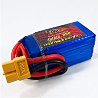 New Giant Power Dinogy 800mAh 14.8V 4S 65C LiPo Battery For RC Airplane Multicopters By KTOY