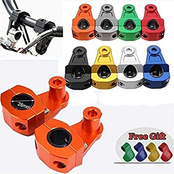 HandleBar Handle Fat Bar Mount Clamps For Triumph Tiger 800//XC Tiger 1050//1200
