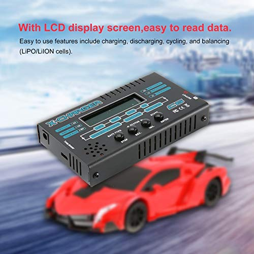 Wikiwand G.T.Power C6 LCD Charger for 1-6S LiPO/Li-ION 1-15S NiCD/NiMH RC Battery by Wikiwand (Image #3)