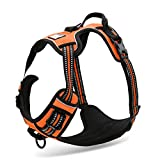Front Range Dog Harness,3M Reflective Dog Vest Harness,No Pull Pet Harness with Handle