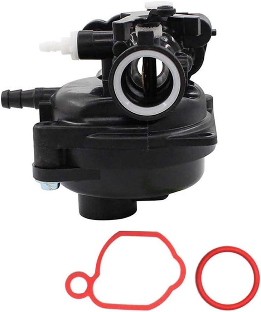Bomcomi pour Le Remplacement Briggs et Stratton 450E s/érie 125cc Carburateur Bague d/étanch/éit/é Ensemble Tondeuse Carb 591979 595656
